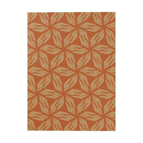 Orange Pinwheels Notebook