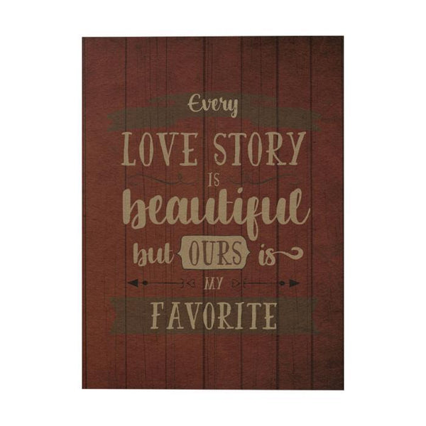 Every Love Story Notebook