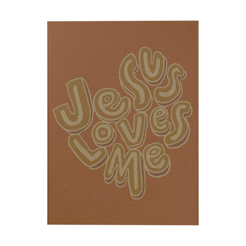 Words of Love Notebook: Jesus Loves Me
