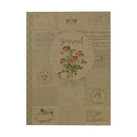Vintage Botanical Notebook: Journal