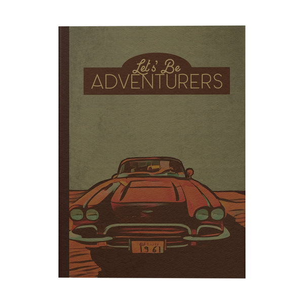 Let's be Adventurers Notebook