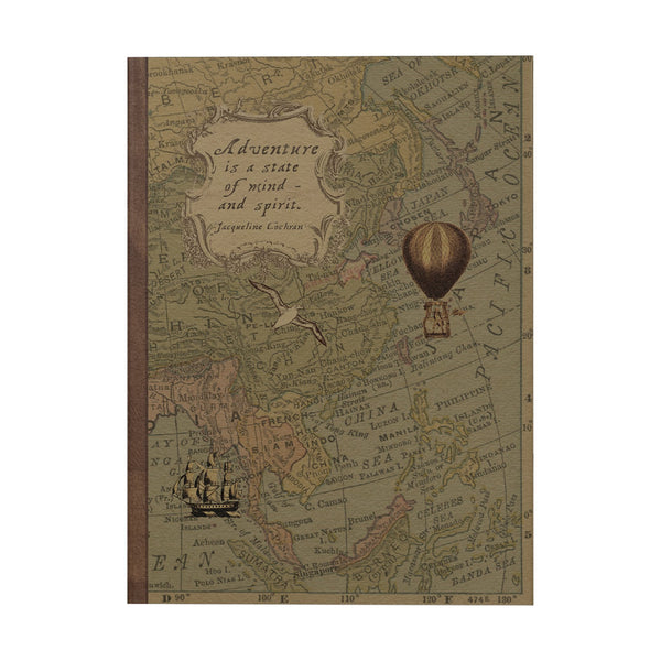 Adventure is a State of Mind Notebook