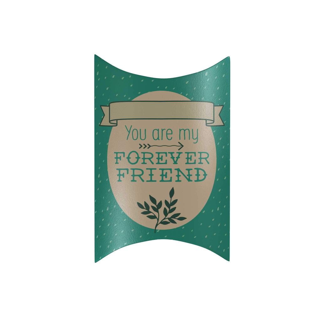 You Are My Forever Friend Pillow Box: Blue