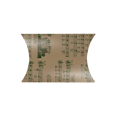 Music Sheet Pillow Box