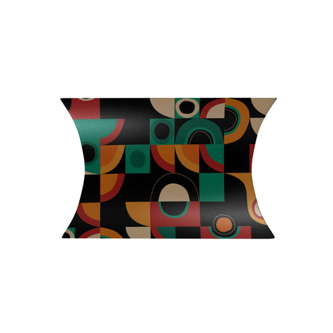 Modern Geometric Abstract Pillow Box