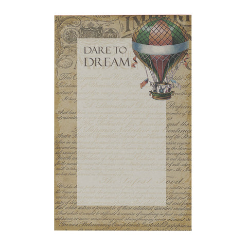 Dare To Dream Notepad