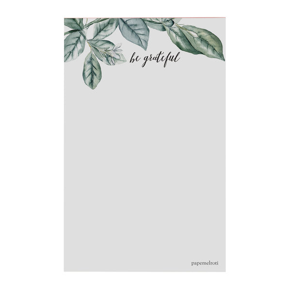 Be Grateful Notepad