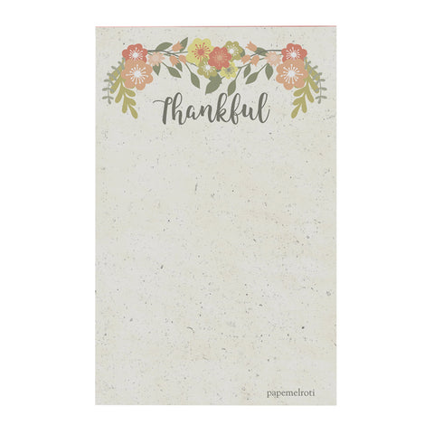 Thankful Notepad