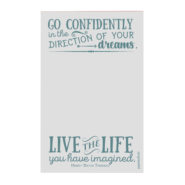 Go Confidently Notepad