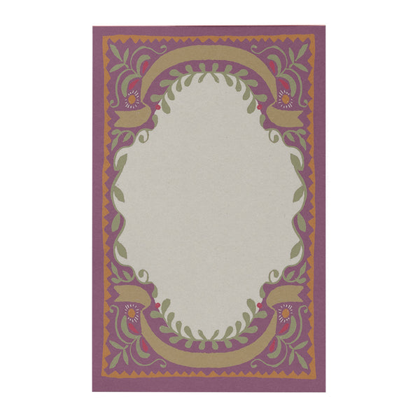Lilac Window Notepad