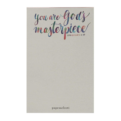 You Are God's Masterpiece Notepad