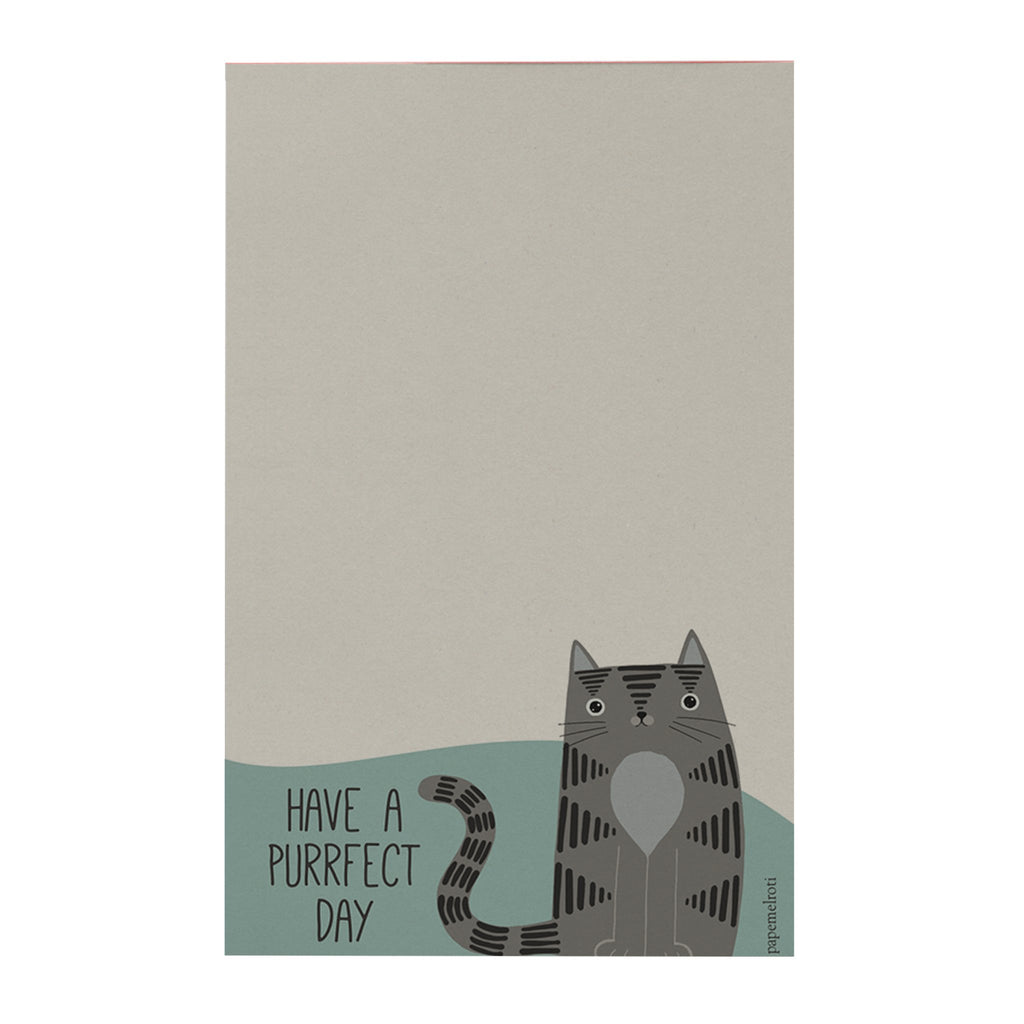 Pawsome: Have a Purrfect Day Notepad
