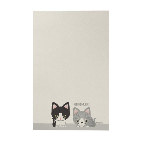 Meow and Furever Writing Pad