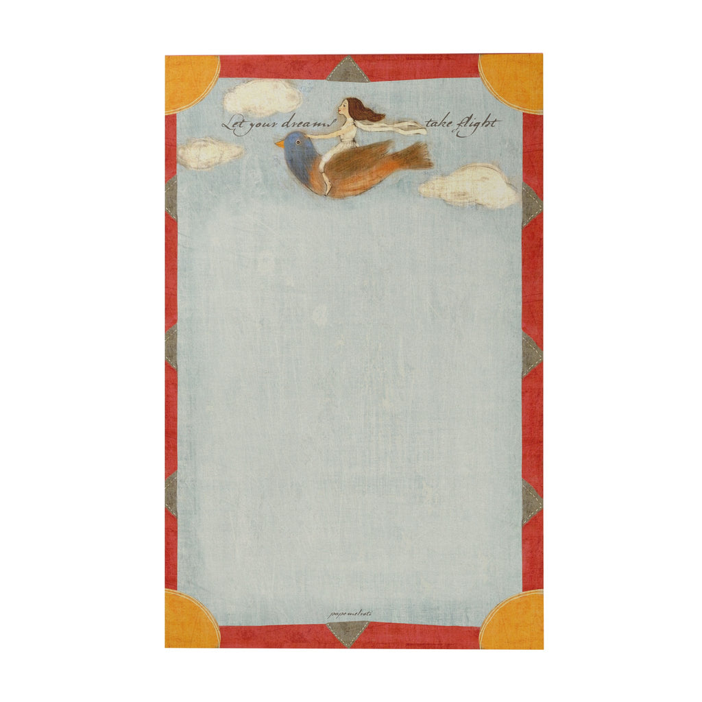 Let Your Dreams Take Flight Writing Pad
