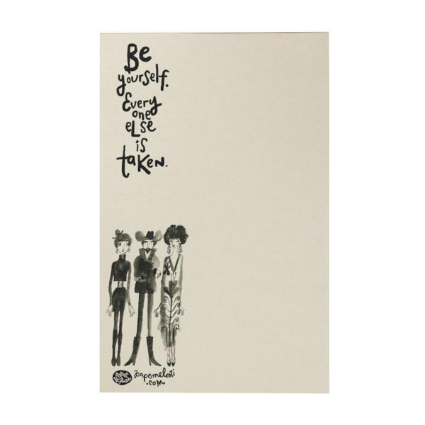 Be Yourself Writing Pad