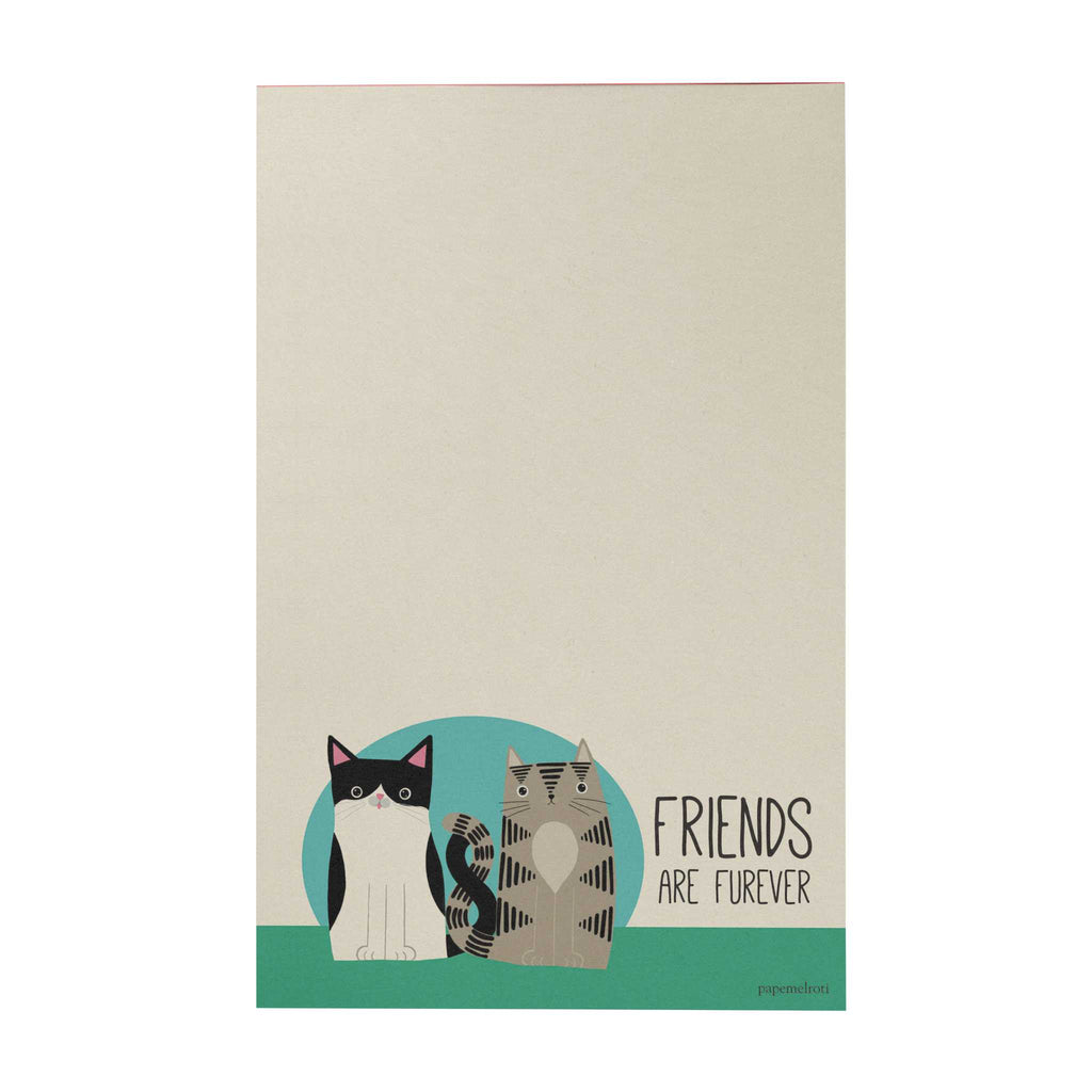Pawsome Writing Pad: Friends Are Furever