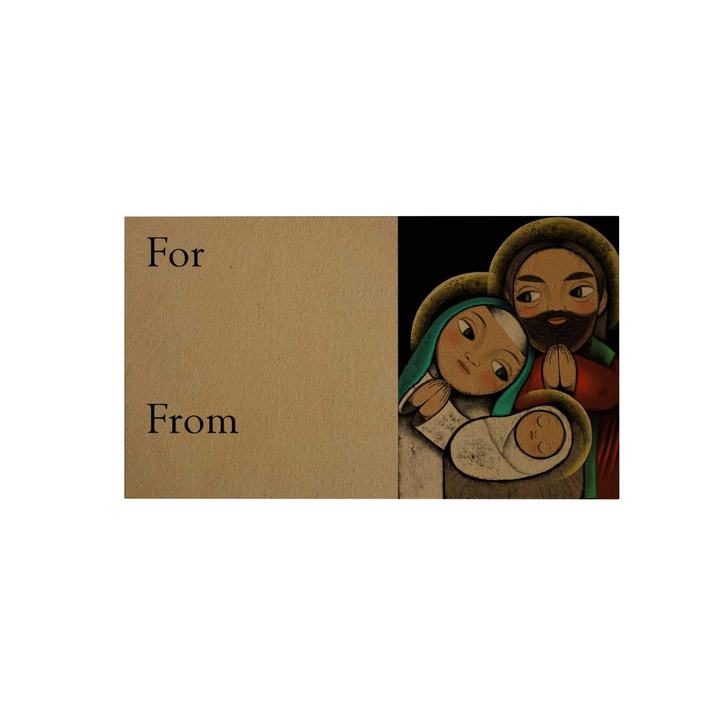 Holy Family Gift Cards: Black