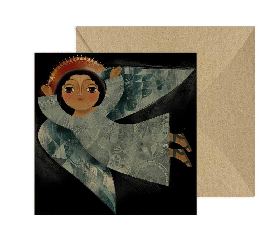 Flying Angel Blank Card Set