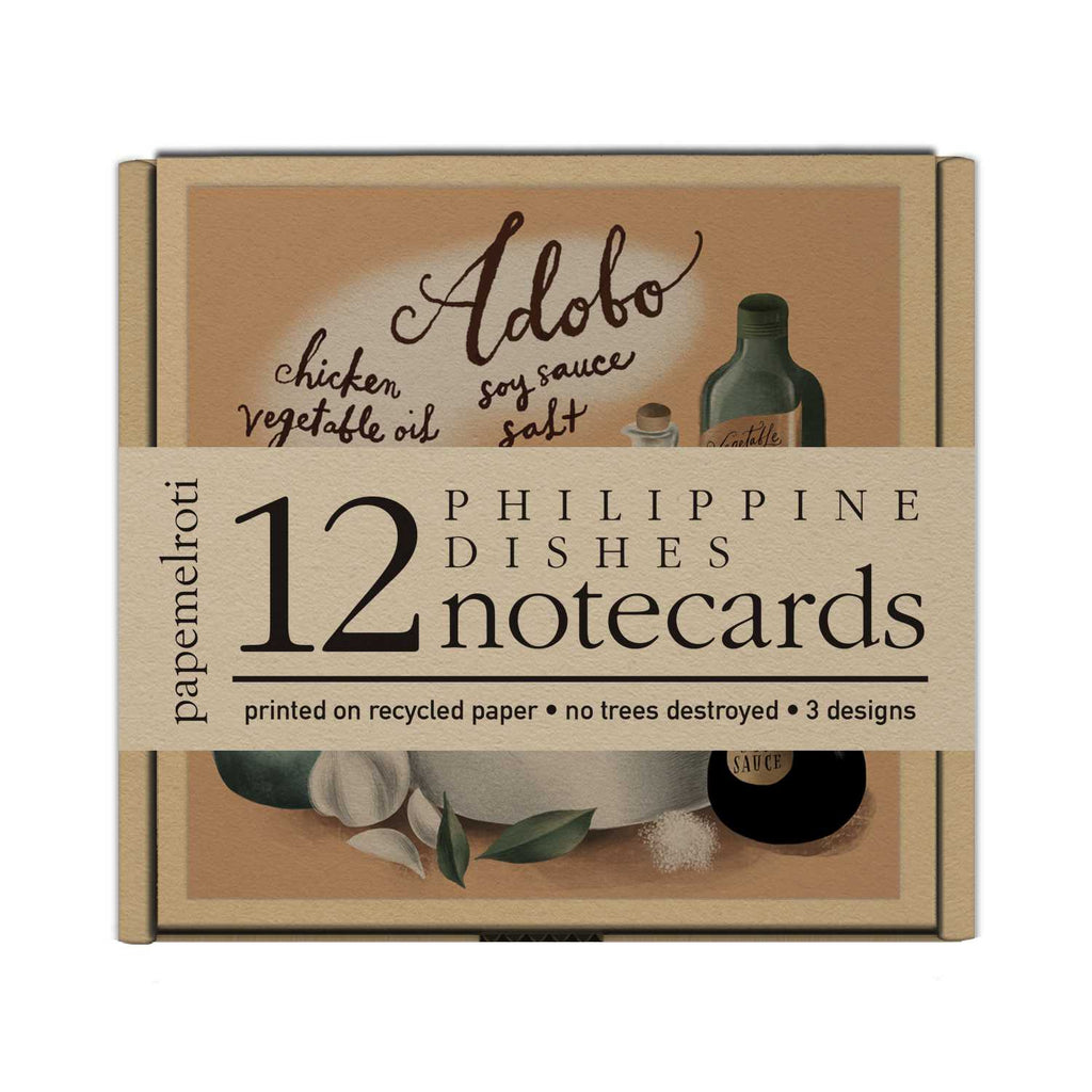 Philippine Dishes Notecards