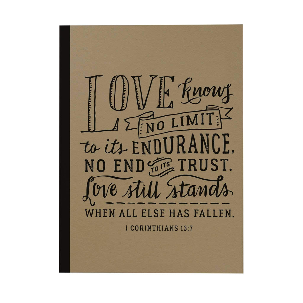 Love Knows No Limit Notebook