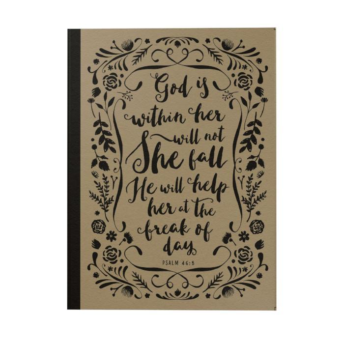 God Is Within Her Notebook
