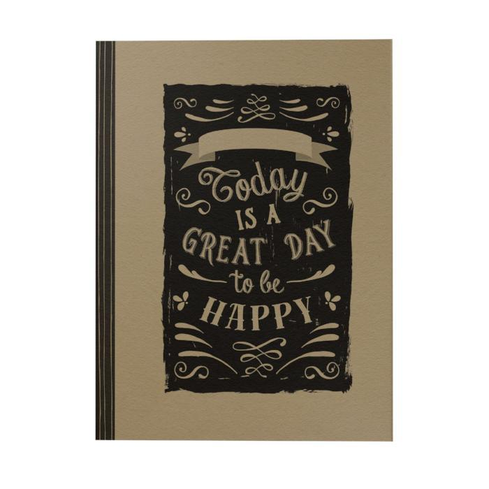 Today Is the Great Day Notebook