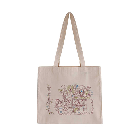 Philippine Jeepney Canvas Bag: Floral