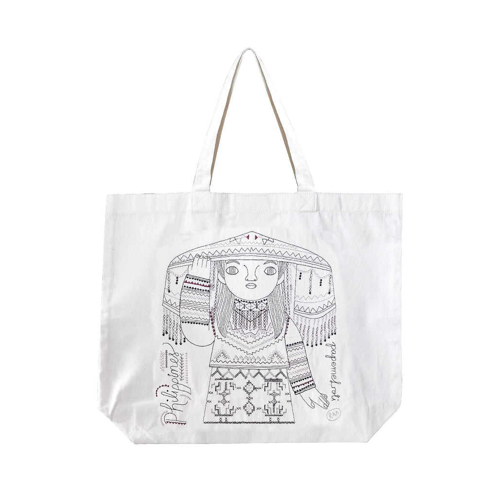 Tiboli Woman Canvas Bag