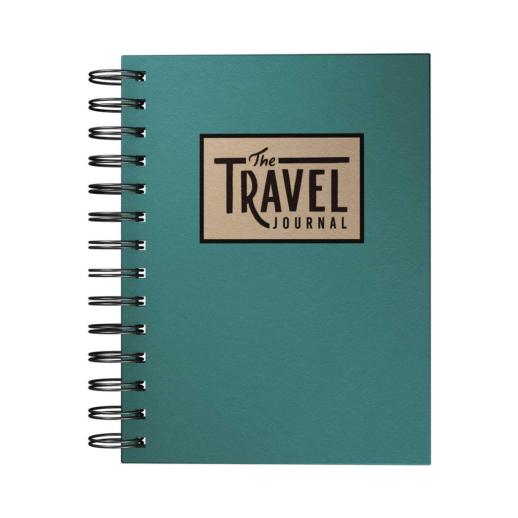 Travel Adventure Journal Blue