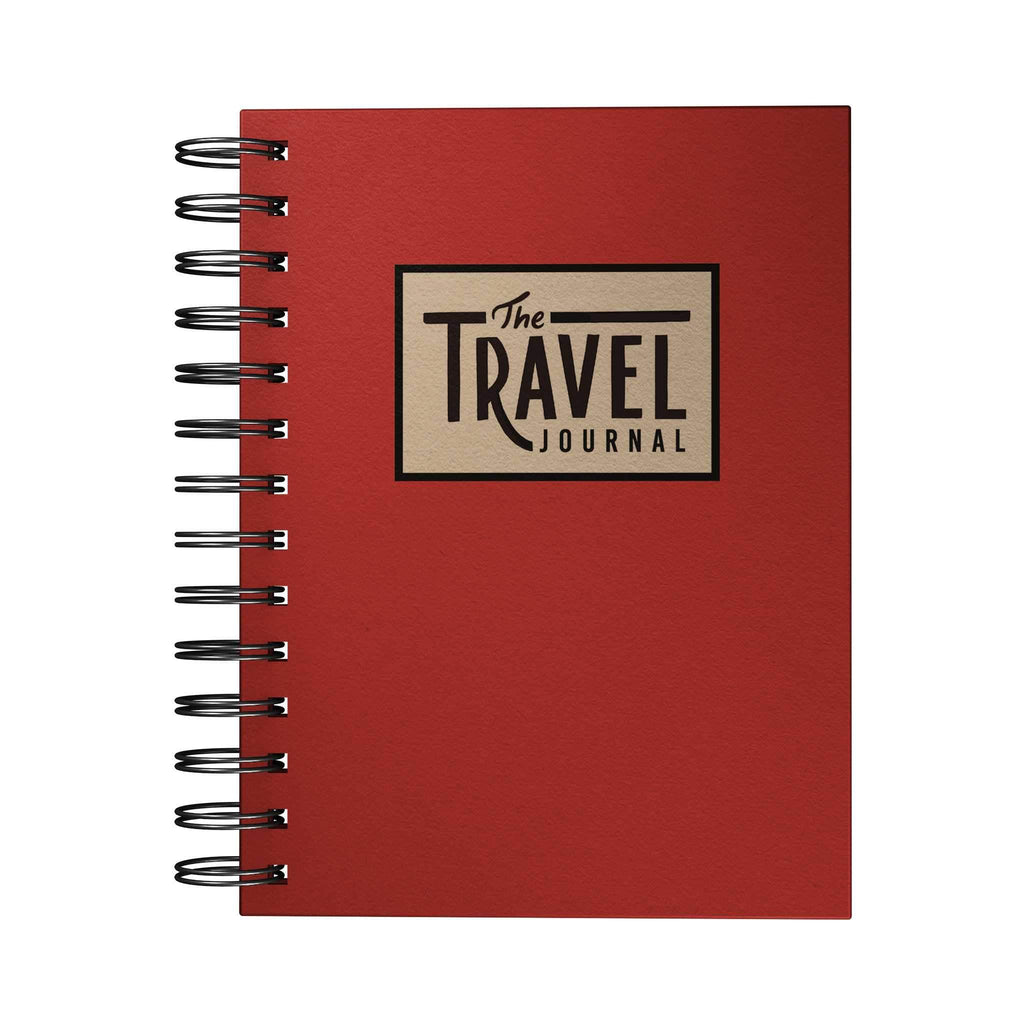 Travel Adventure Journal Red