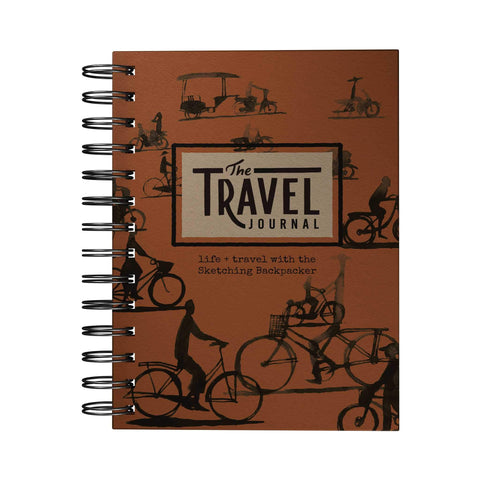 Travel Adventure Journal Sketching Backpacker