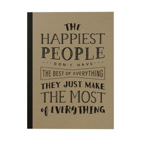 The Happiest People Notebook