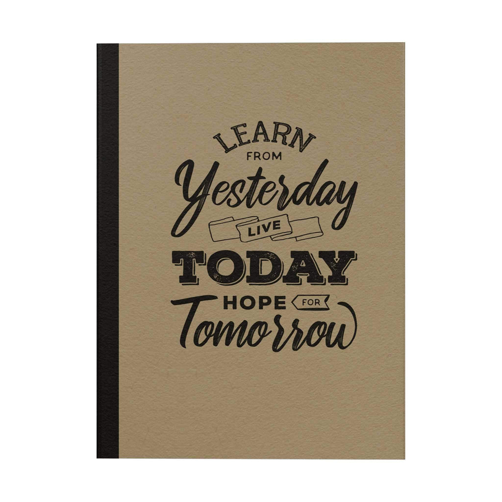 Learn from Yesterday Notebook