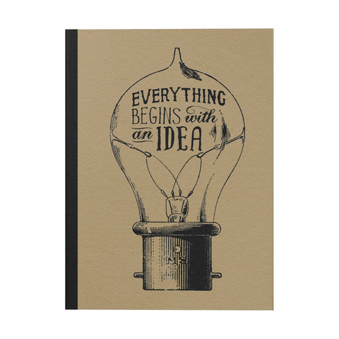 Everything Begins With an Idea Notebook