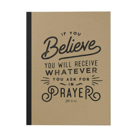 If You Believe Notebook