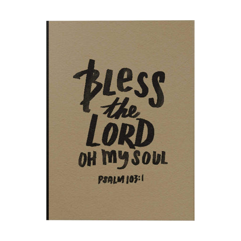 Bless the Lord Notebook