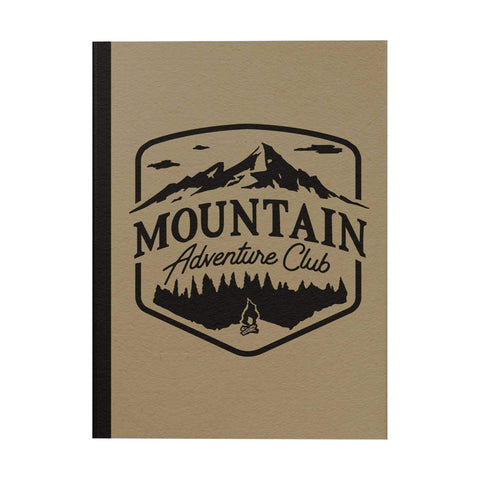 Mountain Adventure Notebook