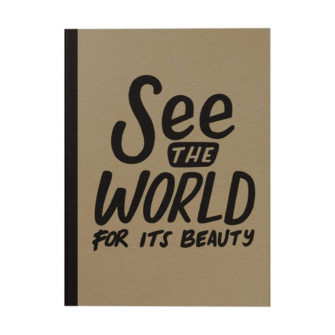 See the World Notebook