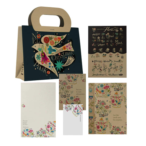 Birds on Bough Gift Set