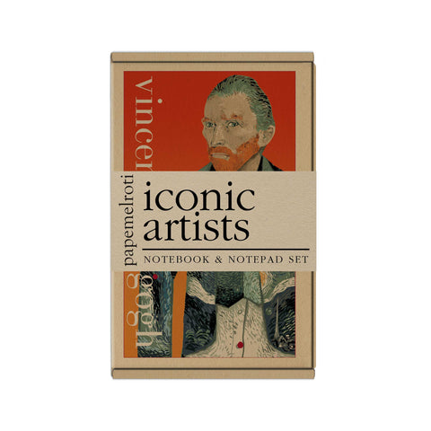 Iconic Artists Notebook and Notepad Set
