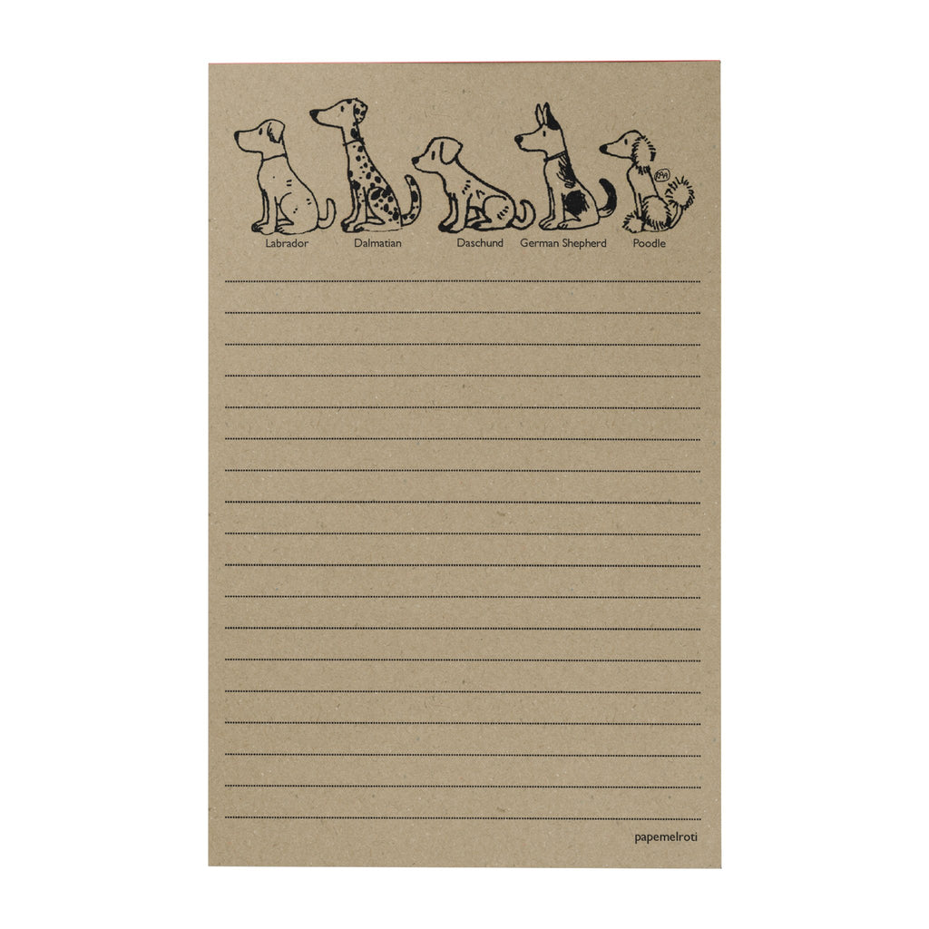 Dogs Writing Pad