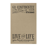 Go Confidently Writing Pad