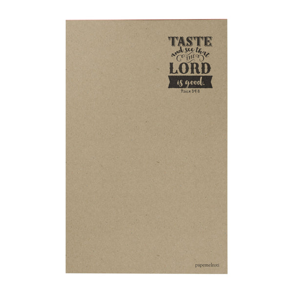 Taste and See Writing Pad