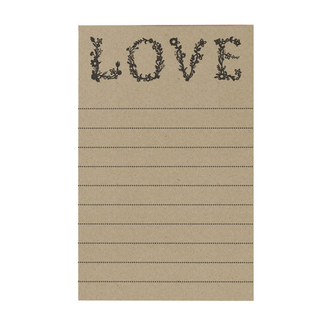 Flower Love Notepad