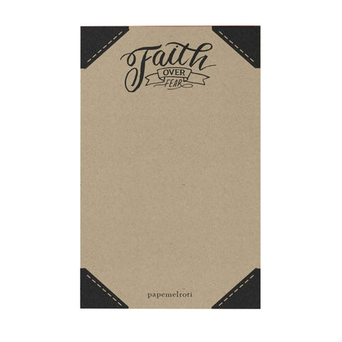 Faith Over Fear Notepad