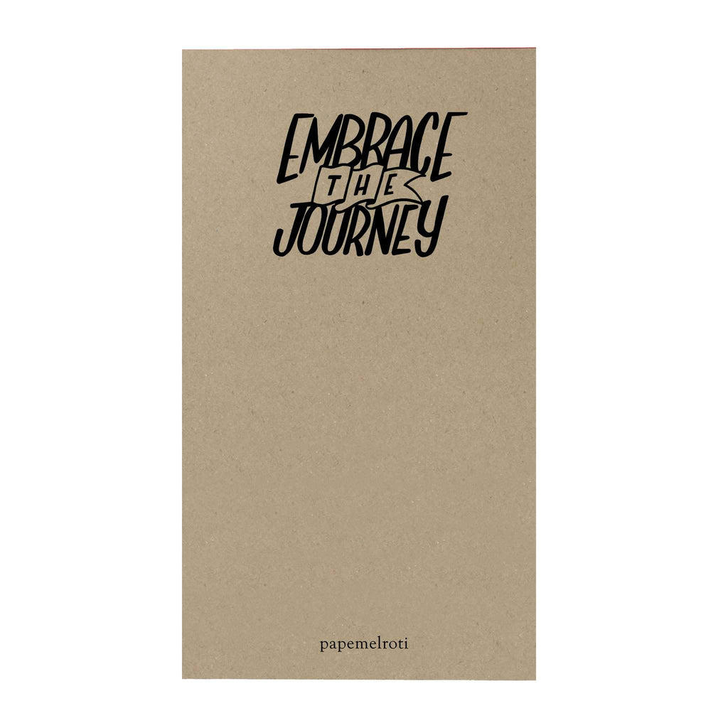 Grand Adventure Notepad: Embrace the Journey Notepad