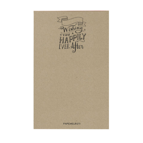 Wishing You a Happily Ever After Notepad