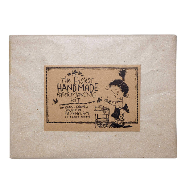 "8"" x 5"" Rectangular Paper Making Kit"