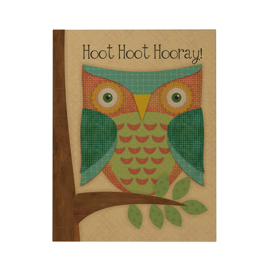 Hoot Hoot Hooray Greeting Card