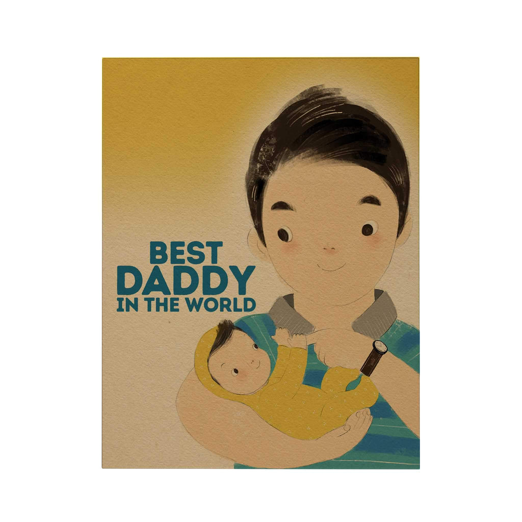 Best Daddy in the World Greeting Card
